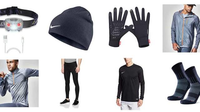 10 Best winter running gear items for men
