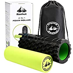 Reehut 2 in 1 foam roller - product recommendation