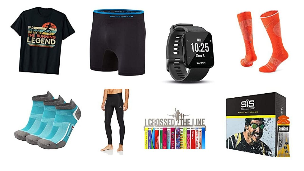 Running gifts for him - product recommendations (as seen in the article)