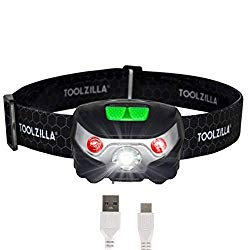 TOOLZILLA rechargeable running head torch (product recommendation)