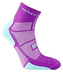 Hilly pink women's running socks (product recommendation)