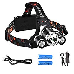 6,000 lumen head torch for running (product suggestion)
