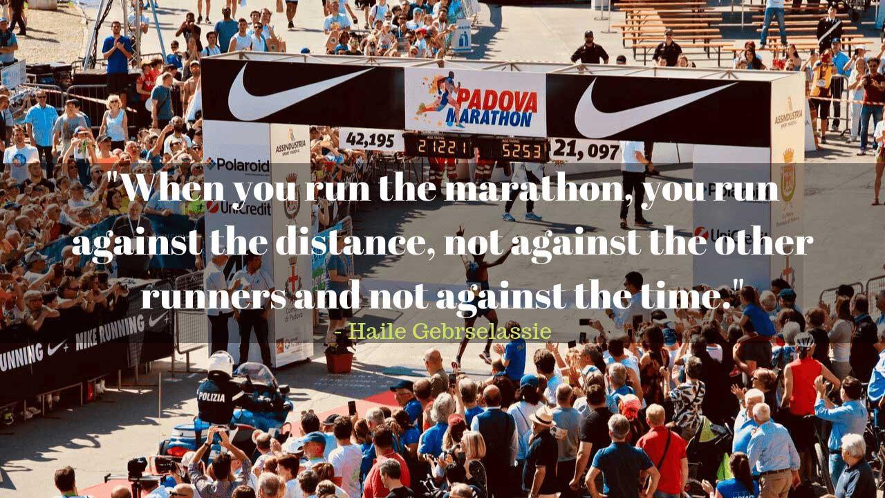 Motivational running coach
