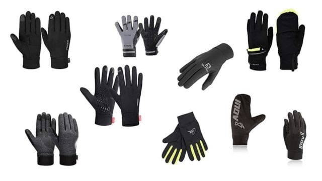 Featured running gloves as in the blog post