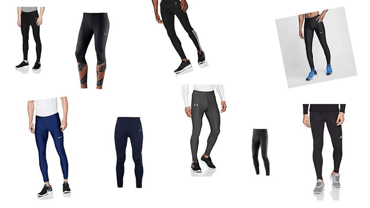 Men's running tights as suggested in this blog post