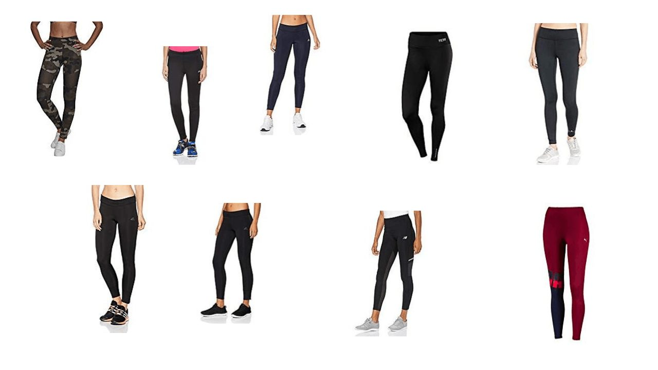 Feature image for women's running tights as in the blog post