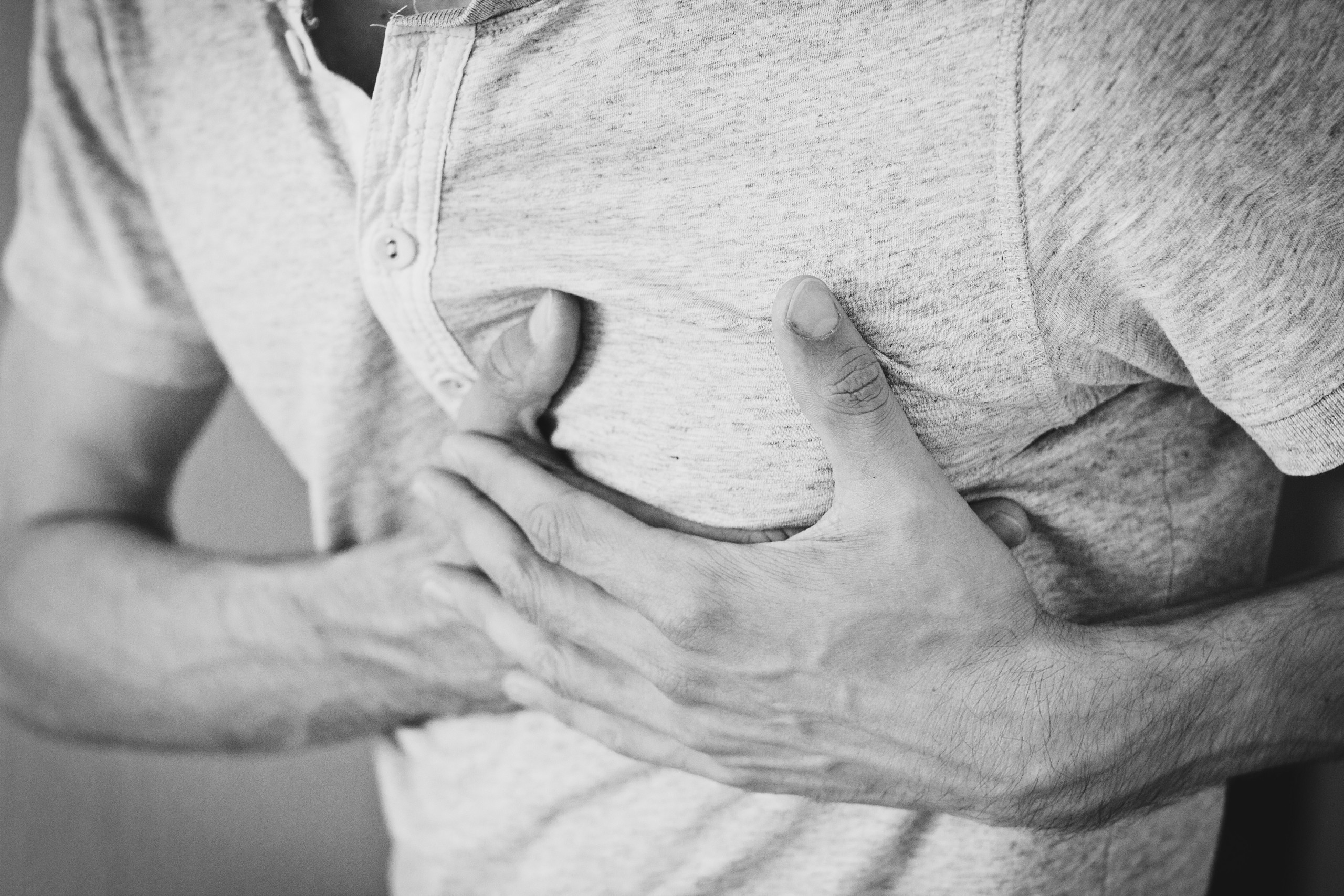 Chest pain - a reason for dropping out of a running race