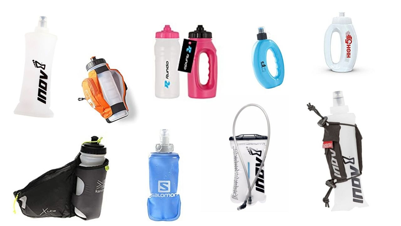 Running water bottles - product recommendations including in the post