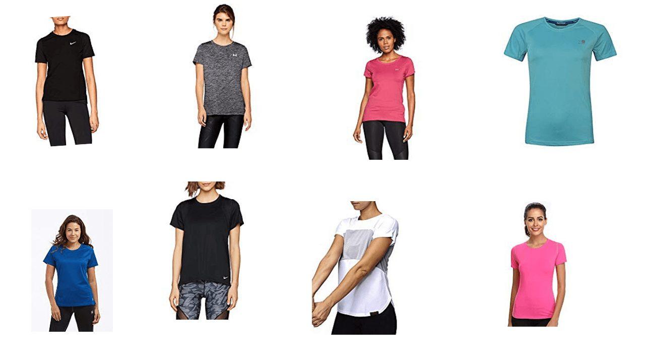 Women's running t-shirts
