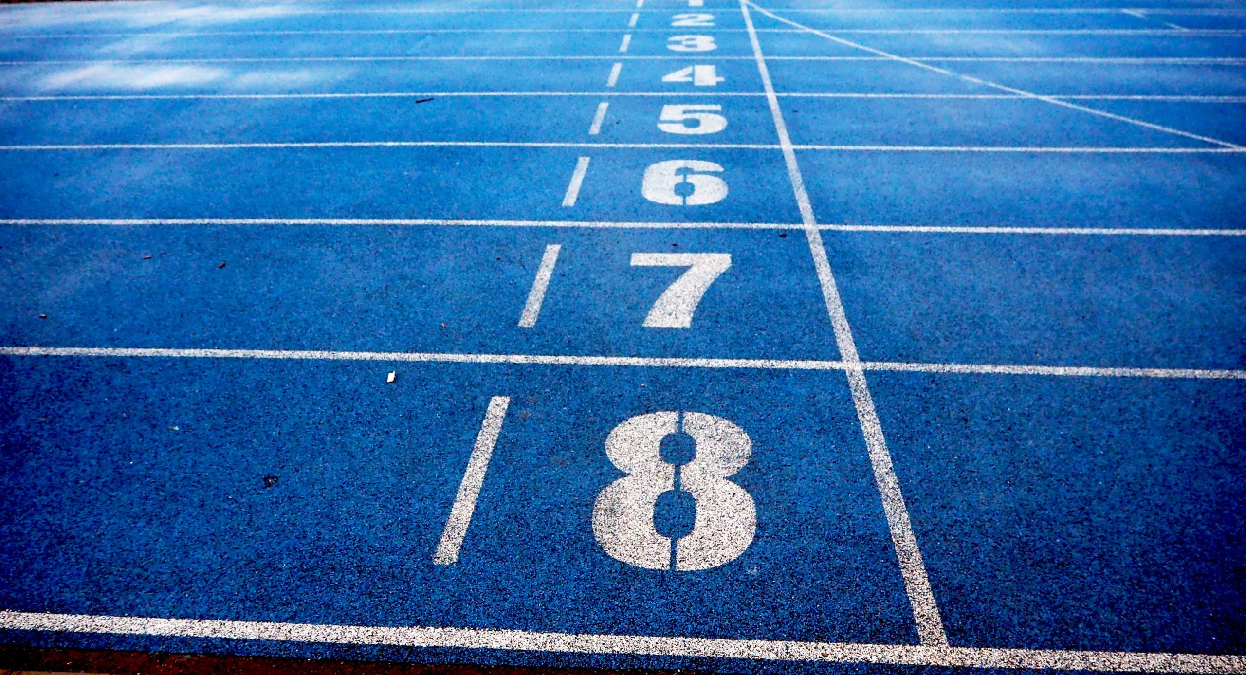 Picture of an indoor running track