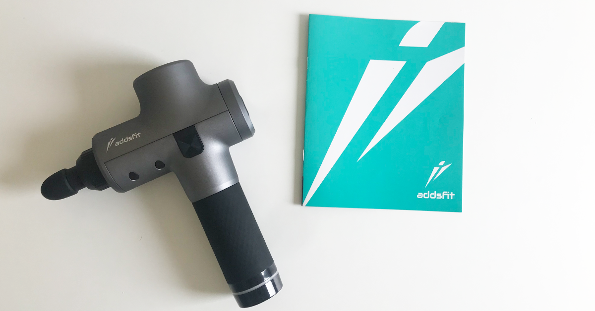 Addsfit massage gun review for runners