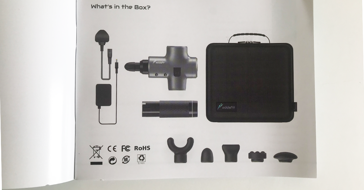 All things included within the box