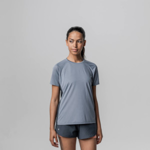 Rockay women's dolphin blue running t-shirt