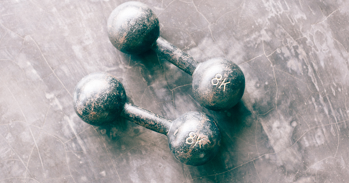 Picture of some weights