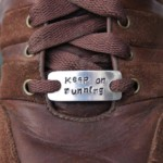 Personalised trainer tags for runners